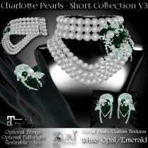 Charlotte Short - White Opal_Emerald
