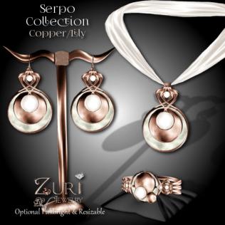 Serpo Collection - Copper_Lily