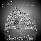 Sweethearts Tiara - Black Dia_Dia_Blk Sterling