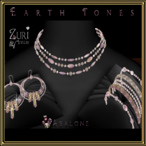 Earth Tones Abalone Collection