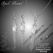 Spell Bound Set - Diamond_Pewter_Sterling