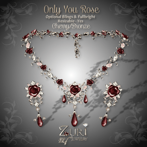 Only You Rose Set - Cherry-Bronze
