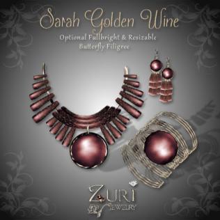 Sarah Golden Wine Collection