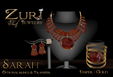 Sarah Jewelry Collection~ Jasper