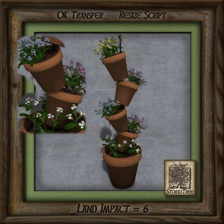 Terracotta Tower of Plants Be