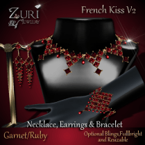 French Kiss Collection - Garnet_Ruby