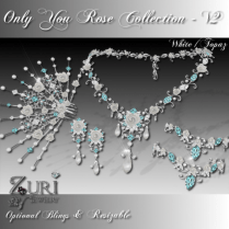 Only You Rose Collection V2-White_Topaz Trans