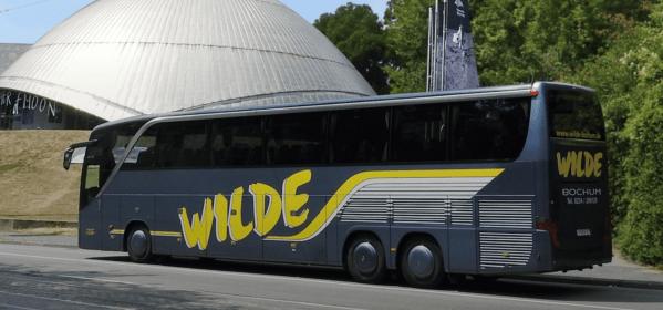 Busfahrt von Schweden nach Deutschland 1
