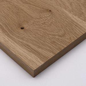 Massivholzplatte Eiche 28 mm Zuschnitt