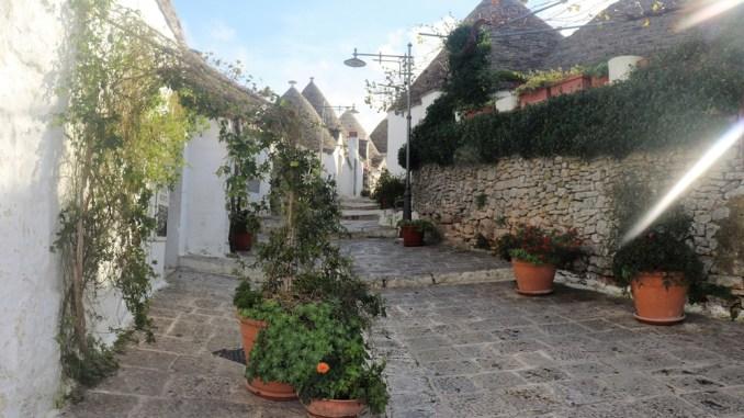 Domki Trulli w Alberobello