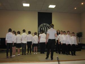 Krajská súťaž Mládež spieva 2015 - akustická skúška