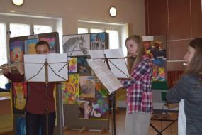 Trio priečnych flaut