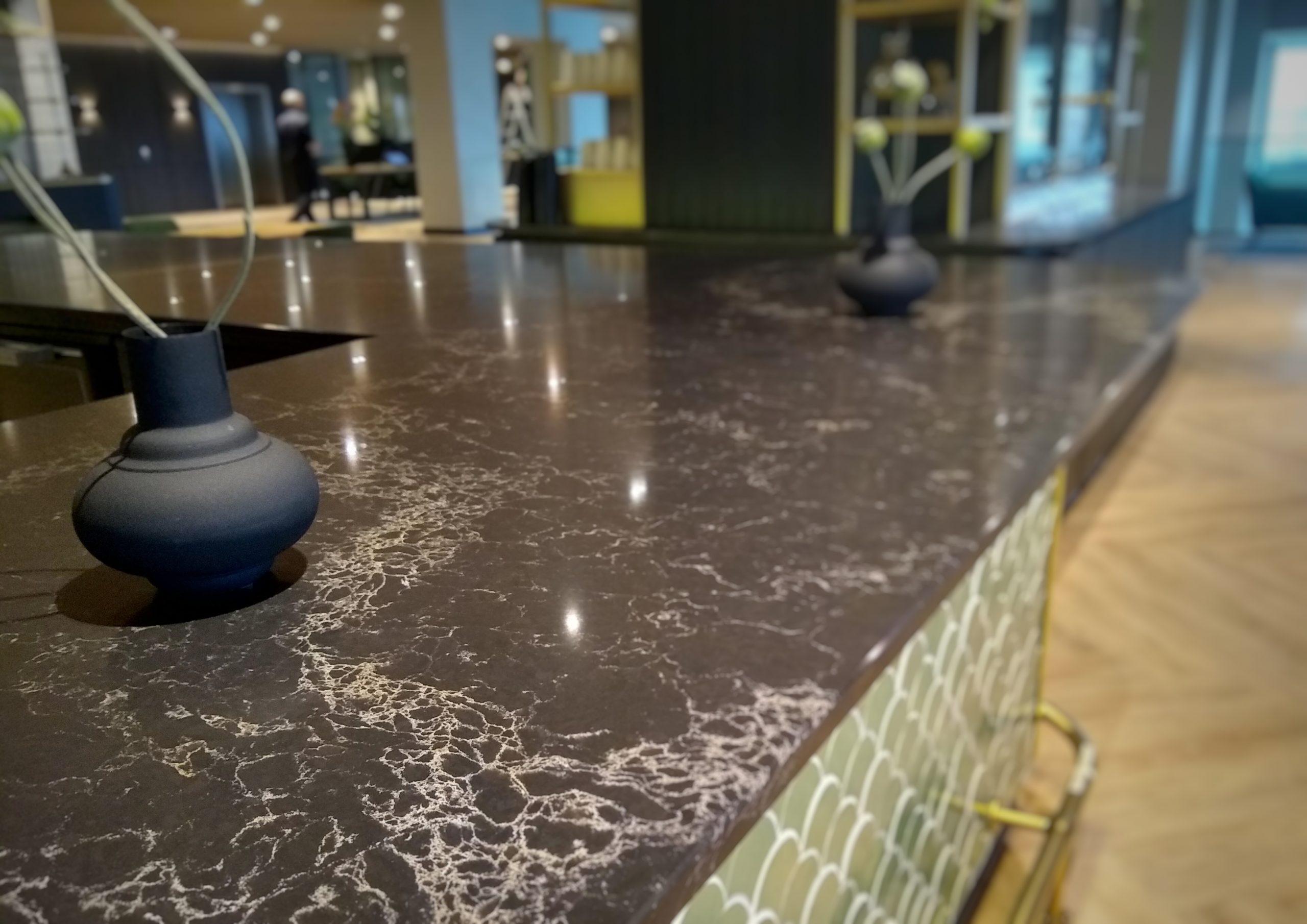 detail barblad Hotel Haarlem