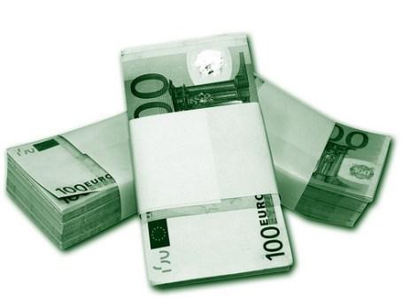 100 euroko billeteak by comparativa de bancos, Flickr