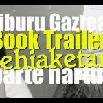 Gazteentzako book trailer lehiaketa