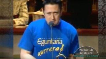 Espainiar progresiak Egunkariari txistu egin zionekoa