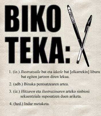 Azken astea BIKO-TEKA album ilustratuetarako ilustrazio eta narraziogintza tailerrean parte hartu ahal izateko