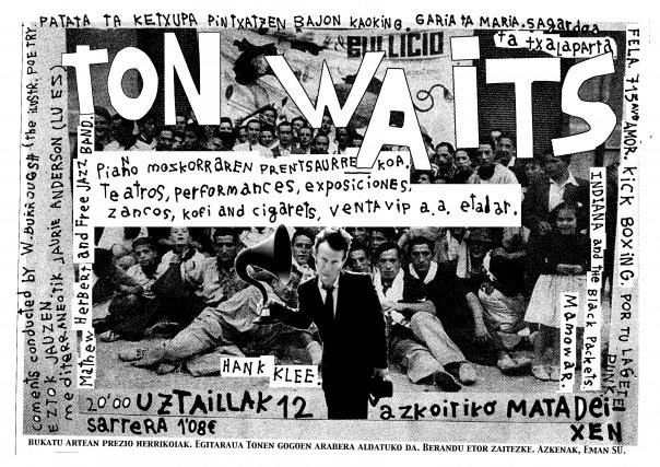 [Kafe Aleak] Ander Lipusek Tom Waits