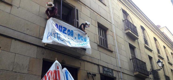 LAB, Donostiko Orixe eraikinaren okupazioaz