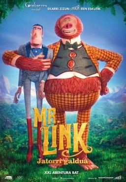 [Zinema Euskaraz] Mr Link: Jatorri galdua