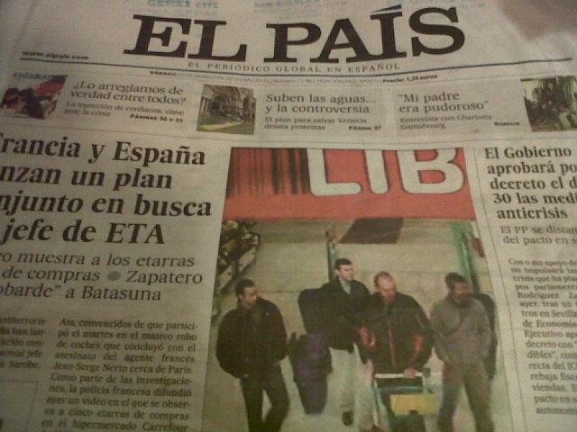 El País egunkaria, larunbateko alea