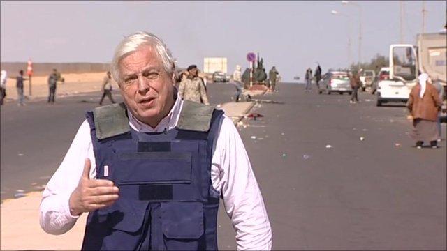 John Simpson, BBCko kazetaria