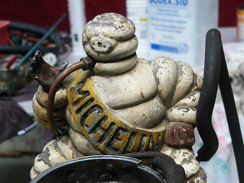 Michelin enpresaren maskota