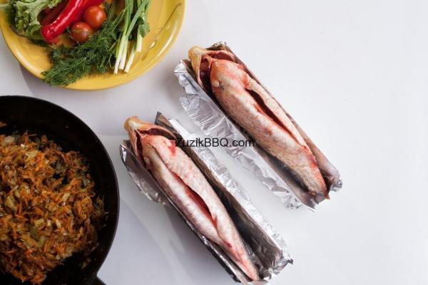 """Підставка для риби нержавійка """"Пузо"""""""