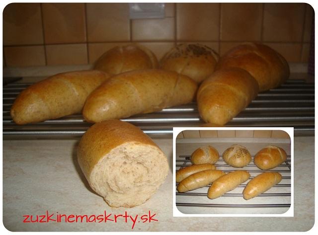 Kváskové kaiserky, raženky a iné pečivo