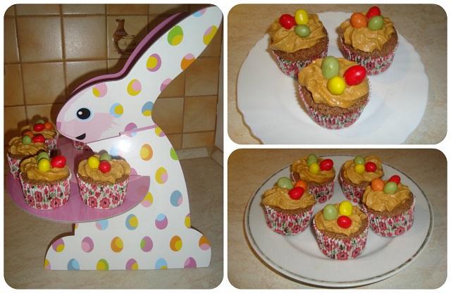Bezlepkové cupcakes