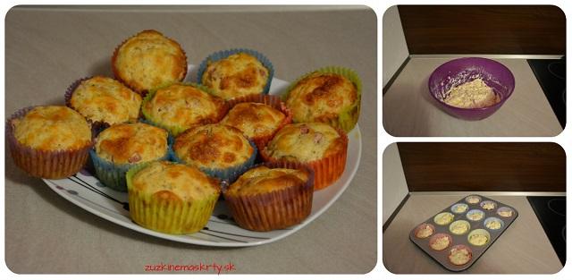 Pizzové špaldové muffiny