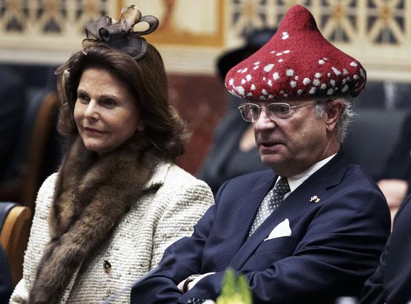 King Sweden Funny Hats