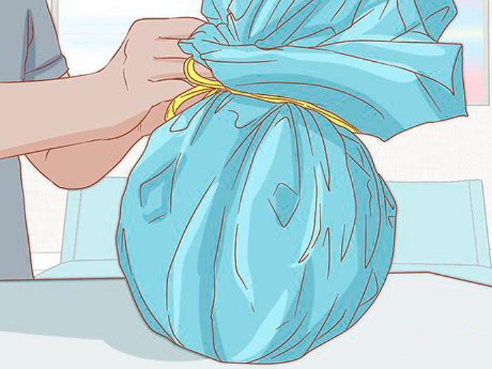 Суретте суретте көрсетілген - сыйлық, күріш қалай жинауға болады. Дөңгелек сыйлық қаптамасы