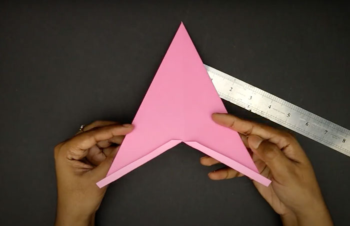 Fotoğrafta tasvir - kağıttan toplu yıldızlar. Evde tatil hazırlama!, Şek. Basit Star 1.