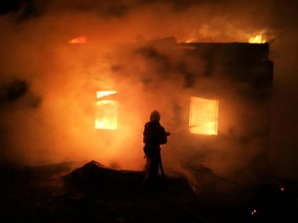 с 14 января в регионе произошло 11 пожаров