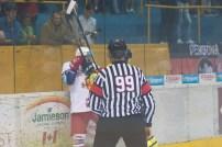 HKM Zvolen (biela) - MsHK Žilina (žltá)