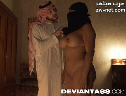 الدجال العربي ينيك المربربة ذات النقاب لاخراج الجن من كسها