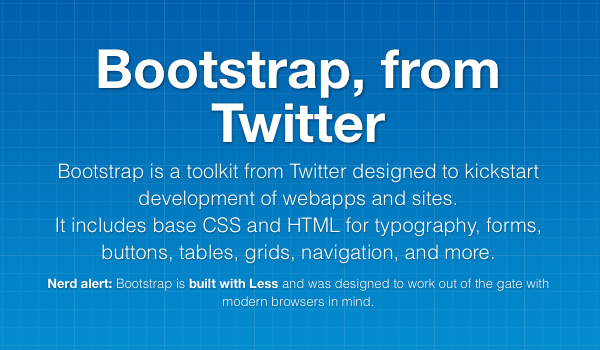Web Design made easy - Twitter Bootstrap