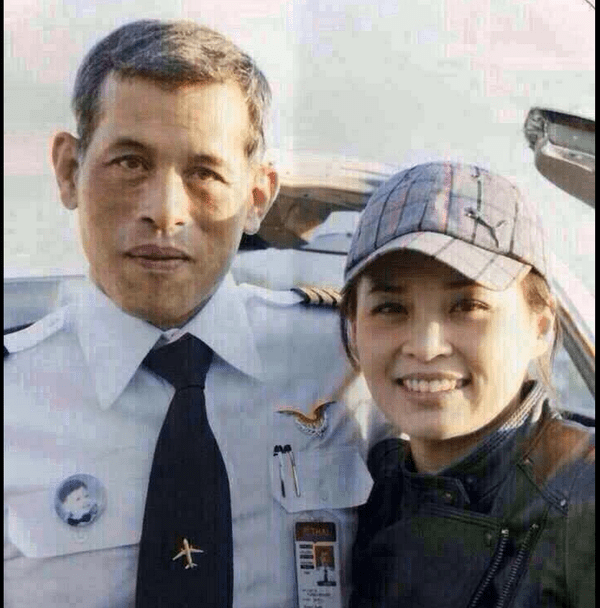 Crown Prince's mistress Suthida (Nui), a former Thai Airways flight attendant, who is expected to become his 4th wife