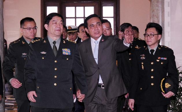 Prayuth-Chinese-defense-minister