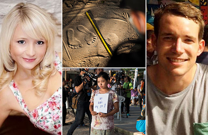 Hannah Witheridge and David Miller Koh Tao murders
