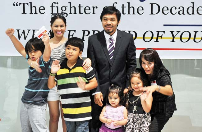 Manny-Pacquiao-Family
