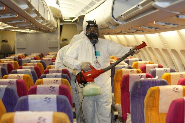 The health alert is stepped up and Thai Airways showed how it disinfects flights from the Mideast after the virus was detected in a man from Oman.