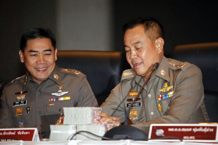 Police believe between 40 and 50 military major generals and colonels could be involved in the current high-profile lese majeste case, Pol Lt Gen Srivara Ransibrahmanakul, acting deputy national police.