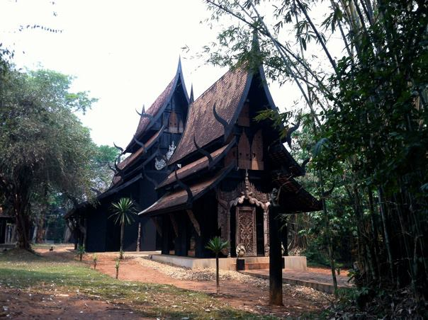 Chiang Rai's Black House Museum, which displays artwork of the late artist Thawan Duchanee, was reportedly damaged by Chinese tourists.