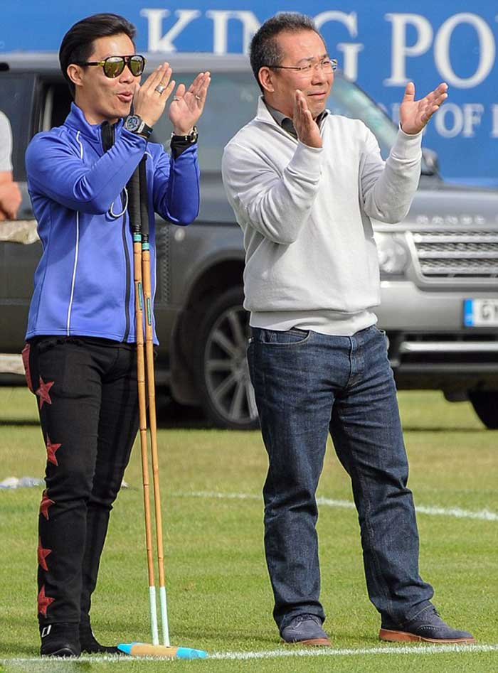 Vichai-(pictured-with-his-son-Apichet)-reportedly-decided-to-invest-in-Leicester-City-in-just-half-an-hour-when-he-bought-it-in-2010---but-he-apparently-isn't-just-in-it-for-the-money