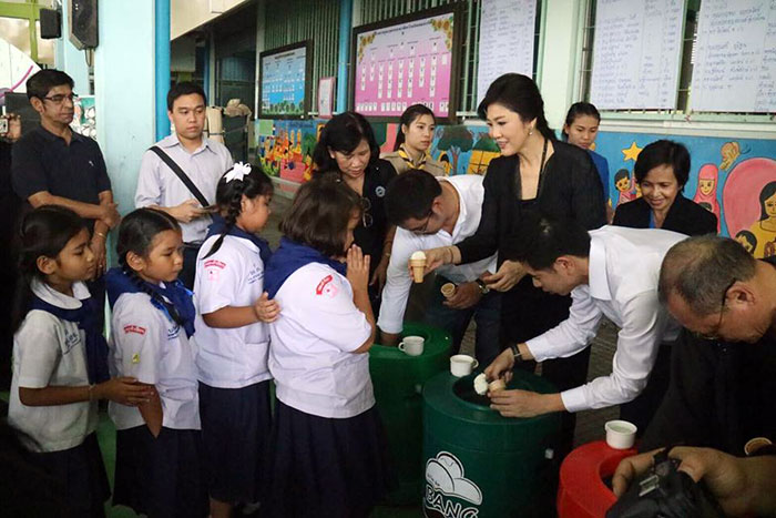 Children's Day in Thailand - Yingluck