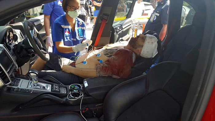 Tony Kenway, 39, was shot dead in Thailand, while sitting in the driver's seat of his Porsche,