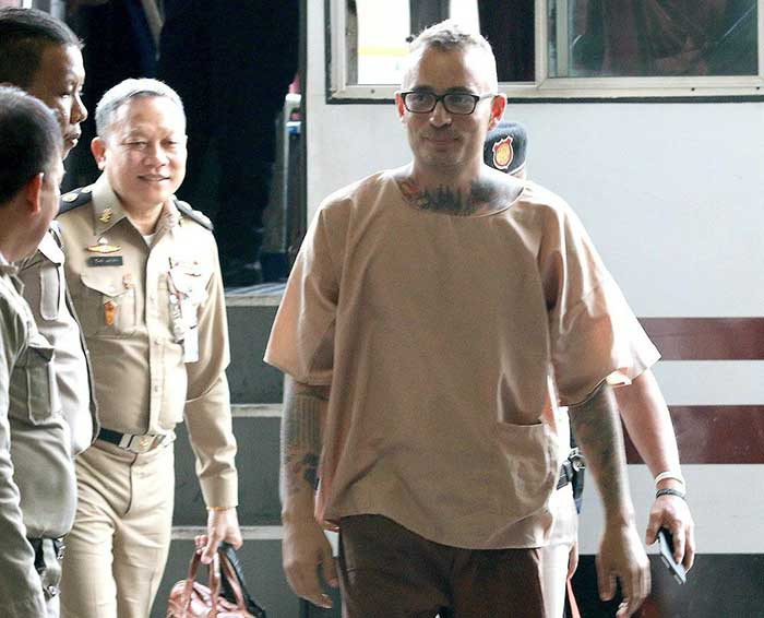 Artur-Segarra-Princep,-accused-in-the-torture-and-murder-of-a-compatriot-in-Bangkok-early-last-year,-arrives-at-court-on-Friday-for-the-verdict