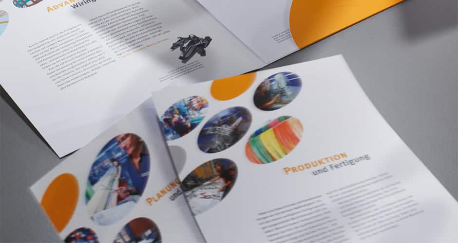 Einlegeblätterdesign